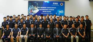 Highlight for Album: 2011年08月02日至06日 FIFA MA Refereeing Course 2011